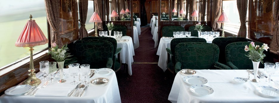 Restaurant Car Etoile du Nord on the Venice Simplon Orient Express