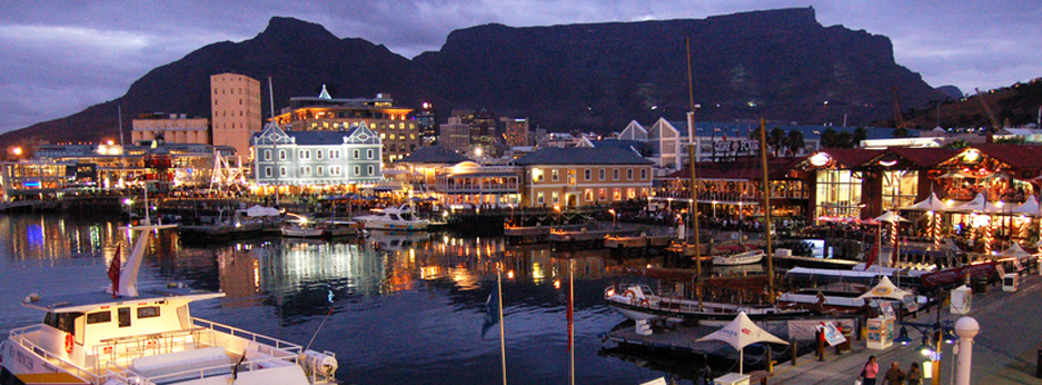The harbour at Cape Town, South Africa