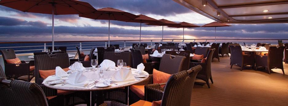 oClass Terrace Cafe Patio, Oceania Cruises